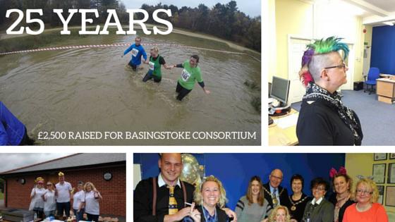 25 years young & £2,500 raised for Basingstoke Consortium