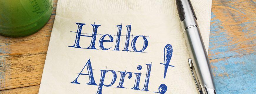 Don't be an April fool